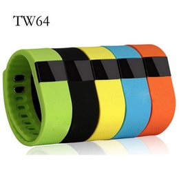 Wholesale Health Purple Colors - FITBIT TW64 New 8 colors wristband Smart Band Fitness Activity Tracker Sport Bracelet health Wristband Pedometer For IOS Samsung Android