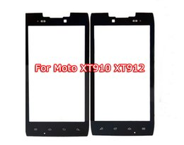 Wholesale Touch Xt912 - Hot For XT910 Replacement LCD Front Touch Screen Glass Outer Lens outer glass for Motorola Droid RAZR XT912 With Free Tool