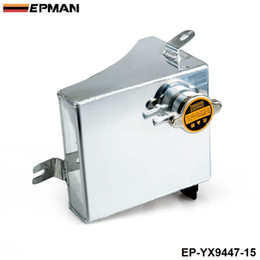 Wholesale Fuel Tank Fittings - EPMAN Aluminum Coolant Overflow Tank Reservoir Kit for 240SX S13 SR20DET KA24DE KA24E KA24 (Fits: 240SX) EP-YX9447-15
