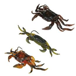 Canada 3pcs de pêche en plein air attrait leurre crabe simulateur d'eau salée simple crochet F00193 SPD Offre