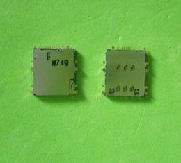 Wholesale Tabs Sim Card Slot - 20pcs lot Original Sim Card Reader Holder Socket Slot For Samsung Tab 3 8.0 T310 T311 P5200 T210 T211