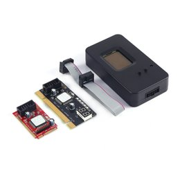 Wholesale Post Tests - Mini PCI-E PC PCI diagnostic test tester PC debug post card for Laptop and Desktop