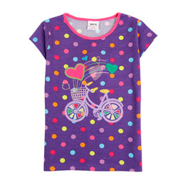 Wholesale Clothes For Kids Girls School - Short Sleeve Beautiful Girls Clothes Summer For 2-6 years old Warm school walk party Kid clothing