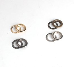 Wholesale Metal Free Shoes - Factory wholesale price 1000sets 14mm rose gold metal eyelets garment accessories bag shoes buttons free shipping