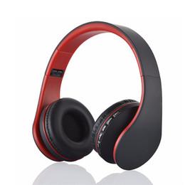 Wholesale Digital Stereo Headphones - LH-811 Bluetooth Wireless Headset Stereo Headphone Bluetooth3.0+EDR Digital 4 in 1 Multifunctional Mp3 Earphones MicroSD   TF Card Slot
