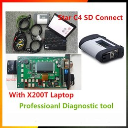 Argentina 09/2017 MB C4 SD Connect Star Diagnosis System con Vediamo DTS Monaco8 y X200T Laptop para MB STAR C4 Xentry Diagnostic-Tool Suministro