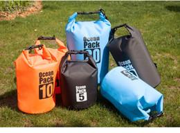 Wholesale Dry Bag For Kayak - 2017 Newest Waterproof Bag Storage Dry Bag for Canoe Kayak Rafting Sports Outdoor Boating Camping Travel Kit Drifting Waterproof storage Bag