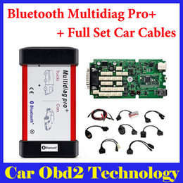 Wholesale Ford Single - 2014.3 2015.3 Free Keygen ! Single PCB CDP Bluetooth Multidiag Pro+ for Cars Trucks and OBD2 With 4GB Card + Full Set Car Cables by DHL
