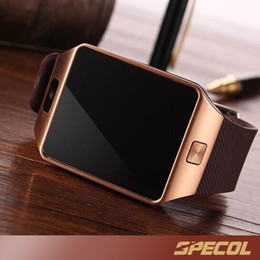 Wholesale Xmas Gift Watch - 1PCS DZ09 Smart Watch GT08 U8 A1 Wrisbrand Android watchSmart SIM Intelligent mobile phone watch record the sleep state Q18 V8 Xmas Gift