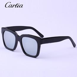 Wholesale Handmade Sunglasses - Carfia fashion polarized sunglasses Square Frame The Dreamer Sunglasses Vintage Handmade Men Women The Luxury Brand Designer 60mm Sunglasses
