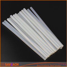 Wholesale Craft Guns - 7mmx250mm Clear Glue Adhesive Sticks For Hot Melt Gun Car Audio Craft transparent For Alloy Accessories
