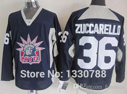 Wholesale Liberty Cotton - 2016 Mens NY Rangers Mats Zuccarello Liberty Logo Navy Blue Practice Alternate Stitched New York Rangers Cheap Hockey Jersey