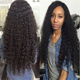 Wholesale Brazilian Bundle Hair Very Cheap - Malaysian kinky curly hair weave 3 bundle kinky curly hair extensions in stock very cheap Malaysian human hair weave Malaysian kinky wave