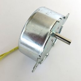 Wholesale Geared Synchronous Motors - AC 12V 5-6rpm min 50 60hz synchronous gear motor Low speed high torque