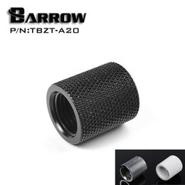 Wholesale Pc Water Cooling Fitting - Wholesale- Barrow G1   4 '' Female to Female (Extender 20mm) PC water cooling system water cooling fitting TBZT-A20