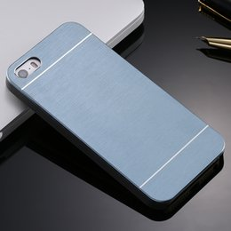 Wholesale 4s Accessories - 4s Aluminum Metal Brush Case for iphone 4 4S Phone Accessories Hard Back Cover for iphone4 High Quality Hot Luxury