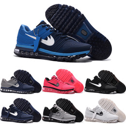 Wholesale Cheap Lace Fabric For Sale - Drop Shipping Wholesale Running Shoes Men Women Air Cushion 2017 Plastic Sneakers Authentic Cheap Boots Sports Shoes For Sale Size 36-47
