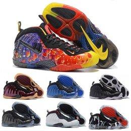Wholesale Round Foam - 2017 Air Foams One Pro Penny Hardaway Mens Basketball Shoes Athletic Men Sports Hardaways Man Trainers Sneakers foamposite Shoes Eur 41-47