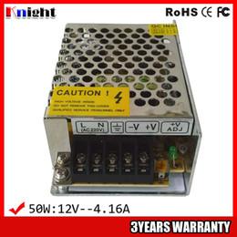 fita led rohs Desconto Atacado 50 W 4A fonte de Alimentação para tensão de entrada AC90-265V tensão de led, 12 v levou fonte de alimentação de fita flexível 50 w