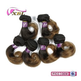 Wholesale Short Ombre Weave - xblhair short human hair extensions ombre human hair bundle virgin cheaper brazilian color human hair weave