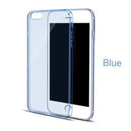 Wholesale Apple Product Quality - Mobile Phone Bag Case For IPhone 6s 6 Plus Iphone7 7Plus Clear Silicone High Quality Protective Shell Back Cover Hot Sale Products