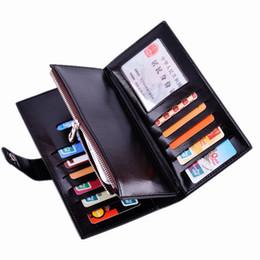 Wholesale Card Cash Wallet - Hot! Women's Fashion Leather Wallets Long Design Candy Color Cash Change Purses Men's Card Holders Casual Lady Standard Wallets