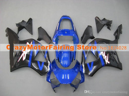 Wholesale Cbr954rr Fairings - 3 Gifts New ABS Fairings set For HONDA CBR954RR CBR900RR 02 03 CBR CBR900 900RR 954 954RR CBR954 RR 2002 2003 Cool blue black