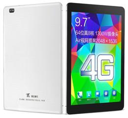 2019 9,7 tavolette 4 g di octa nucleo Cube T9 4G FDD LTE Phone Tablet PC 9.7 pollici 2 GB di RAM 32 GB ROM MTK8752 Octa Core 2.0 GHz Android 4.4 IPS 1920 * 1200 GPS WIFI sconti 9,7 tavolette 4 g di octa nucleo
