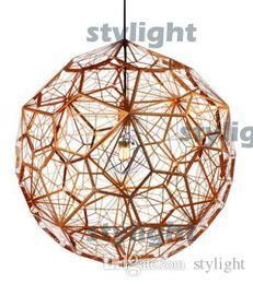 Wholesale Etch Web Light - Etch Web pendant lamp Bedroom Living room Lamps modern design lighting