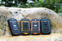 Wholesale Shockproof Dustproof Dual Sim - Discovery V8 Waterproof Cell Phone Quad Core MTK6582 3G GPS 4.0inch Screen 1.3GHZ 5MP Dustproof Shockproof Outdoor Phone