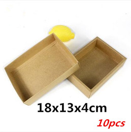 Wholesale Moon Cake Package - 18x13x4cm 10pcs Advanced brown cow card packaging   heaven and earth covered cake roll, biscuits, chocolate, moon cake boxes