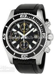 Wholesale Superocean Strap - 2017 Luxury Aeromarine Superocean Chronograph II Mens Watch Rubber Strap Sport Men's Wrist Watches