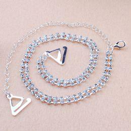 Wholesale Crystal Bra Straps Adjustable - Wholesale-2016 New 2PCS Adjustable Double Rows Diamante Rhinestone Crystal Bra Shoulder Sexy Straps