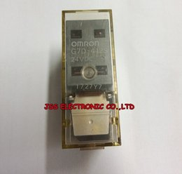 Wholesale Omron Power Relay - Free shipping ! Orignal Omron G7D-412S 24VDC relay ,in stock ~