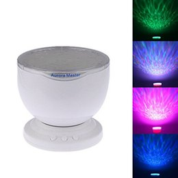 Wholesale Aurora Master Lamp - 1Piece Rainbow Wave Projector Lamp & Speakers,Daren Waves Led nightlight MINI-Wave Aurora Master Night light
