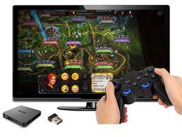 xbox verde Rebajas 2.4G Gamepad Android Controladores inalámbricos Gamepad Joystick controlador Android para Tablet PC Smart TV Box para Samsung Xiaomi