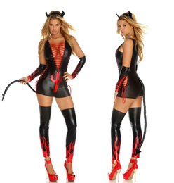 Wholesale Cat Woman Jumpsuit - Sexy Cat Ladies Fancy Dress Animal Jumpsuit Adults Catwoman Halloween sex toys cosplay Costume S173 one size S-L
