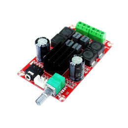 Wholesale Stereo Amplifier 24v - Free Shipping 5pcs lot TPA3116 D2 50W + 50W Dual Channel Stereo Digital Amplifier Board DC 5V 24V XH-M189