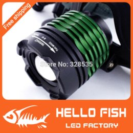 Wholesale Lm Zoomable Headlamp - CREE XML T6 LED 1000LM Headlamp Headlight Head lamp light 1000 Lm Zoomable Zoom torch IN OUT