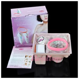 Wholesale Nipple Vibrating - Newest Breast Vibrating Nipple Breast Massager Care Enlarge Enhance Massage Vacuum Massage Cup Bust Breast Massager