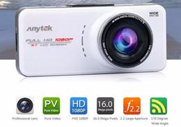 """Full hd gps camera онлайн-Новый оригинальный Anytek автомобильный видеорегистратор 2.7"""" камера автомобиля DVR Full HD WDR видеорегистратор регистратор G-сенсор ночного видения видеокамеры автомобиля"""