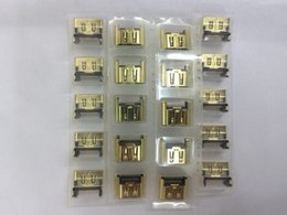 Wholesale Playstation Slim New - High Quality Brand New Gold Silver HDMI Port Socket Interface Connector for Playstation 4 PS4 Slim Repair Parts