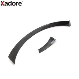 Wholesale Car Nissan Patrol - Car Styling For Nissan Armada Patrol QX80 Y62 2016 2017 2018 Interior Front Center Console Cover Trim Auto Parts Accessories