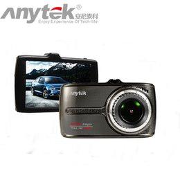 Wholesale Display Screen Parking Sensor - Original Anytek Car DVR G66 Novatek 96655 Car Camera 1080P WDR Parking Monitor Touch Screen Dash Camera