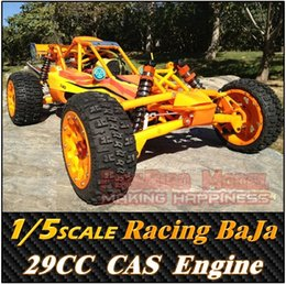 Wholesale Baja 5b Rc Car - Wholesale-Rovan 1 5 SCALE 29CC GAS Powered Engine Racing BaJa 5B ,RC Car Truck ,Top Speed 80km h ,Free Shipping