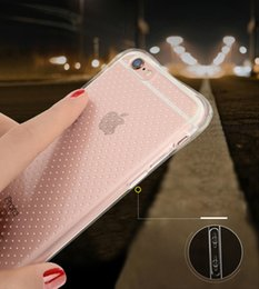 Wholesale Transparent Suits - phone case suit Shockproof Phone Cases For iPhone Case and nano film For iphone 6P 6S Plus 5.5 Transparent Soft TPU Cover