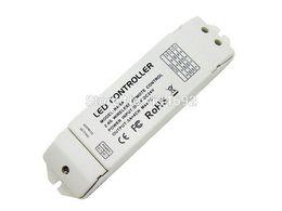 Controladores de zona online-2.4G Wireless R4-5A CV Zone que recibe el controlador LED DC5V - 24V 5A X 2CH 4 zonas de control para el control de iluminación RGB