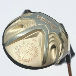 Wholesale Katana Driver Golf - New mens Golf clubs KATANA VOLTIO HI IV Golf driver 9 10 loft Driver clubs Graphite Golf shaft R S SR Free shipping