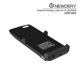 Wholesale Iphone Rechargeable Case External - Hot Slim charger case 4200mAh for Apple iPhone 5s se Charger External Rechargeable mobile power bank
