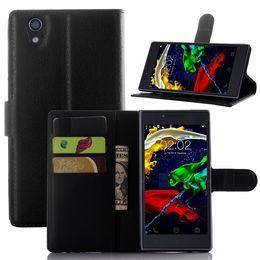 téléphone portable bascule en gros Promotion Gros-Haute qualité flip couverture en cuir lenovo p70 Wallet Style cas pour Lenovo p 70 cas de téléphone portable En gros au détail